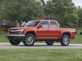 2010 Chevrolet Colorado 1LT 4x4 Crew Cab 5 ft. box 126 in. WB