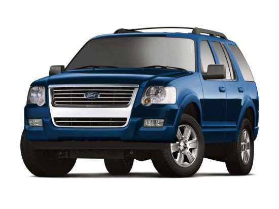 Next-Gen 2011 Ford Explorer Will Feature Terrain Management System