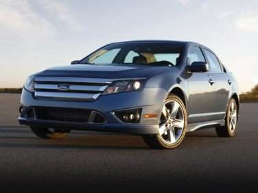 2010 Ford Fusion S FWD