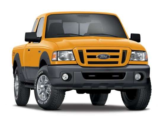 Ford Super Duty In, Ford Ranger Out