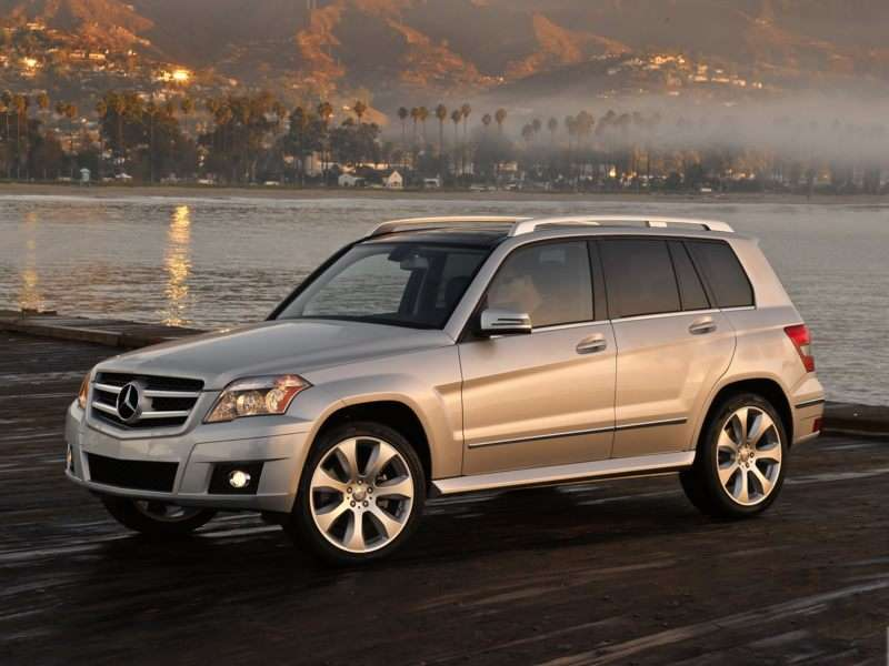 test drive 2009 mercedes benz glk350. Black Bedroom Furniture Sets. Home Design Ideas