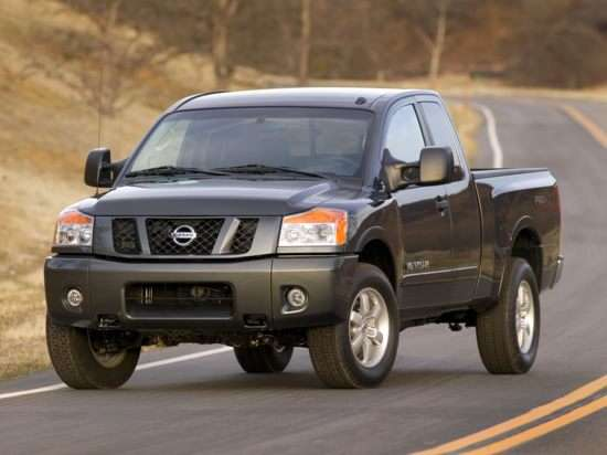 Best Used Nissan Full-Size Truck - Titan