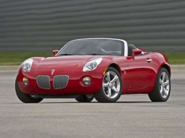 2010 Pontiac Solstice Models Trims Information And Details Autobytel Com