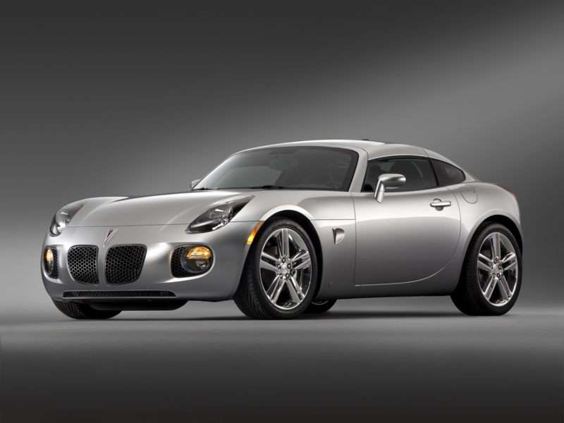 2010 Pontiac Solstice Pictures Including Interior And