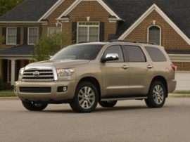2010 Toyota Sequoia Limited 5.7L V8 4dr 4x2