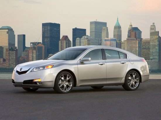 Acura TL: The New Face of Honda