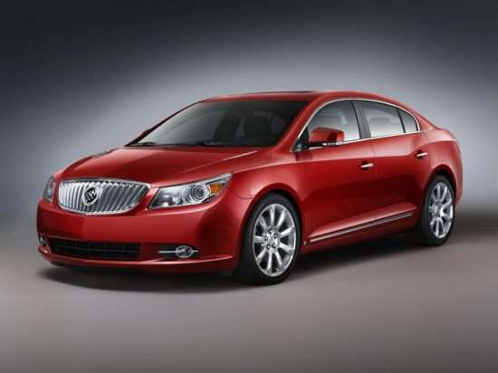 2012 Buick LaCrosse Shows New Powertrain Strategy