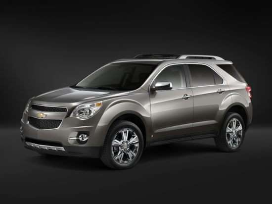 2011 Chevrolet Equinox: Competition