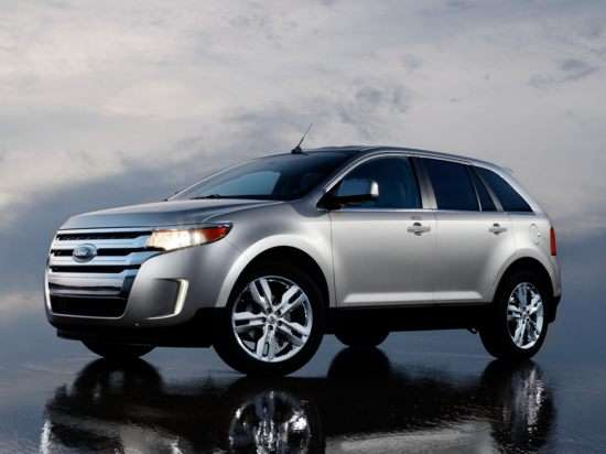 New 2011 Ford Edge V-6 Leads Mid-Size CUV Segment in Power, Fuel Economy