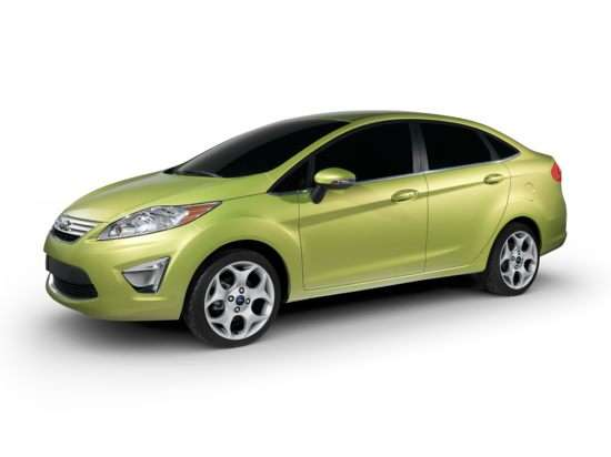 2011 Ford Fiesta is a small car you