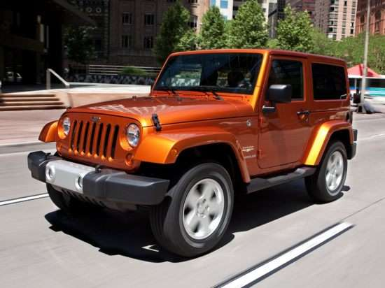 Jeep Wrangler to Get Crossover-style Big Brother?
