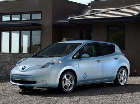 2011 Nissan Leaf Priced just above $25k