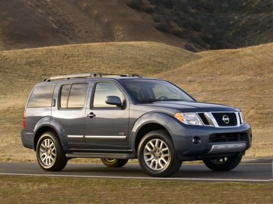 2011 Nissan Pathfinder Silver 4x2