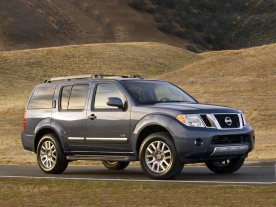 2011 Nissan Pathfinder LE V8 4x4