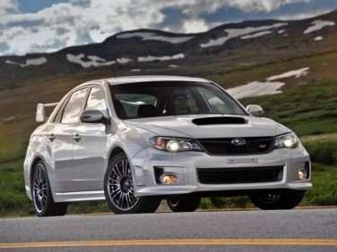 2011 Subaru Impreza WRX STi Limited Sedan