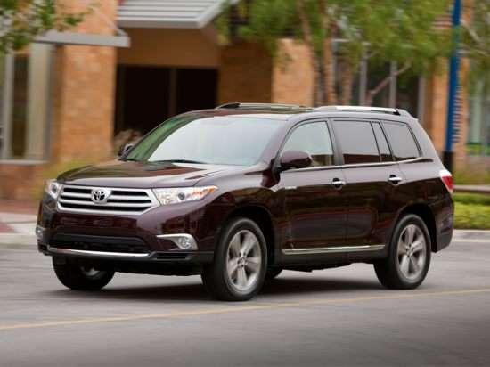 Current Model (2011 Toyota Highlander)