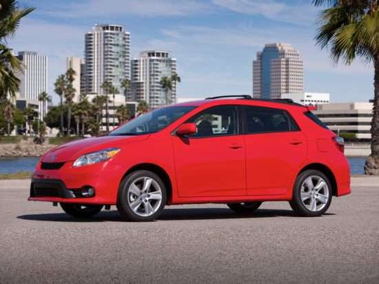 2011 Toyota Matrix Details Released