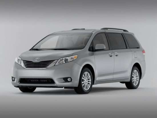 2011 Toyota Sienna Shows Its Swagger