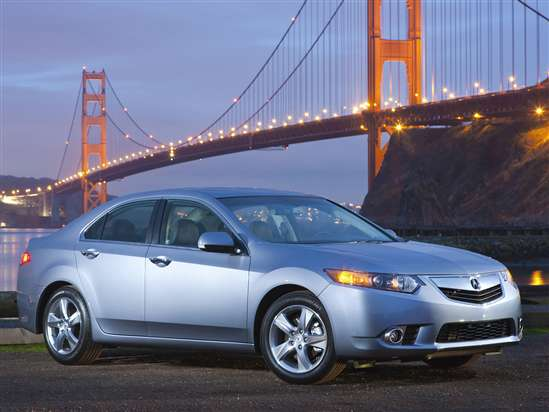 2012 Acura TSX 2.4 w/Technology Package (A5) Sedan