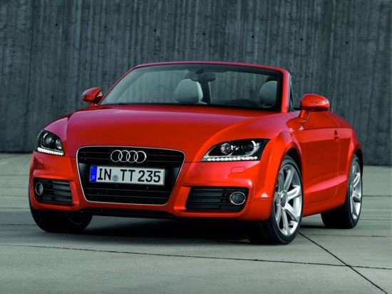 8) 2012 Audi TT Roadster