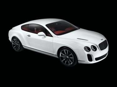 2012 Bentley Continental Supersports Coupe