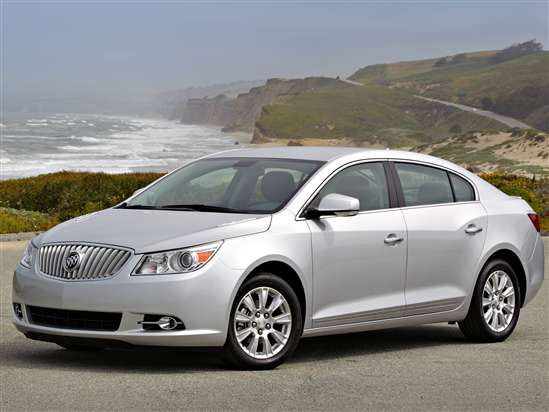 2012 Buick Lacrosse eAssist Hybrid: Video Road Test and Review