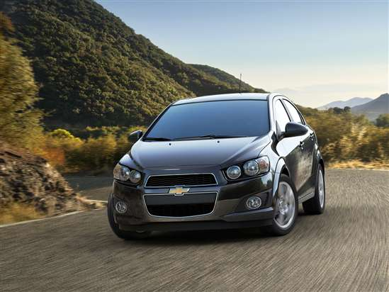 2012 Chevrolet Sonic (33 mpg combined)