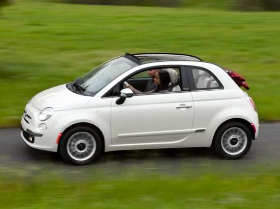 2012 Fiat 500C Review: Driving Impressions