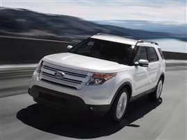 2012 Ford Explorer Base 4dr Front-wheel Drive
