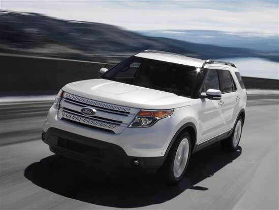 Large Crossovers (over 190 inches)Ford Explorer (MSRP: $28,870)