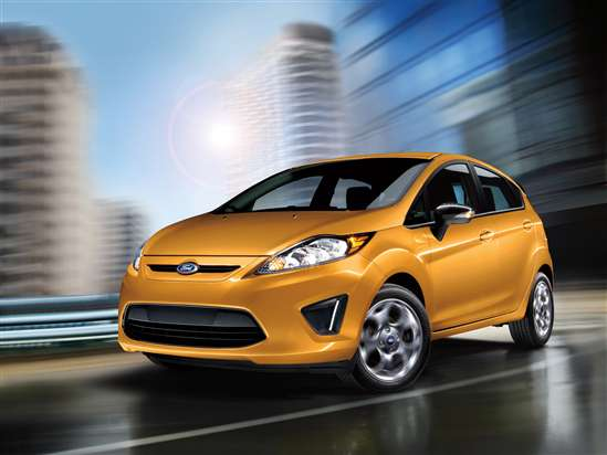Performance: 2012 Ford Fiesta vs. 2012 Honda Fit