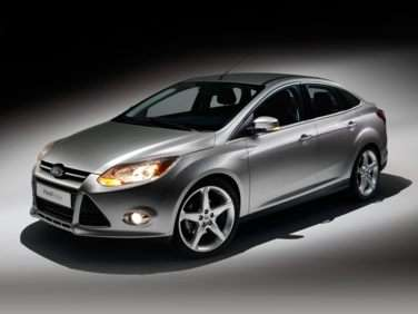 2012 Ford Focus S Sedan