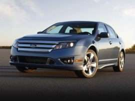 2012 Ford Fusion S 4dr Front-wheel Drive Sedan