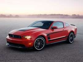 2012 Ford Mustang Boss 302 2dr Coupe