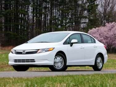 2012 Honda Civic HF (A5) Sedan