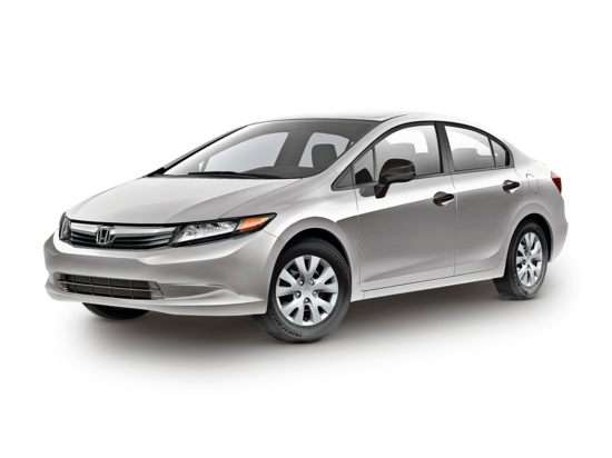 2012 Honda Civic DX (A5) Sedan