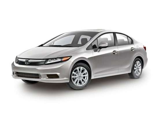 2012 Honda Civic EX (A5) Sedan
