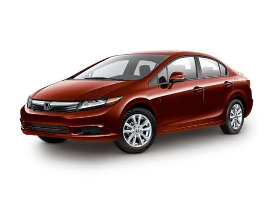 2012 Honda Civic EX-L With Navigation (A5) Sedan