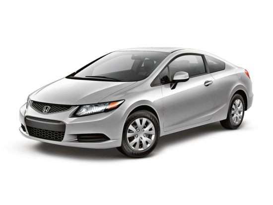 2012 Honda Civic LX (M5) Coupe