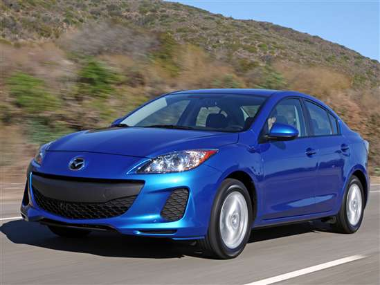 New 2012 Mazda MAZDA3 Boosts Horsepower and Miles Per Gallon
