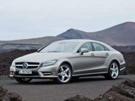 2012 Mercedes-Benz CLS-Class Base CLS550 4dr Rear-wheel Drive Sedan