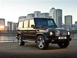2012 Mercedes-Benz G-Class Base G550 4dr All-wheel Drive
