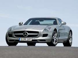 2012 Mercedes-Benz SLS AMG Base SLS AMG 2dr Coupe