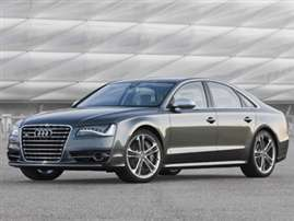 2013 Audi S8 4.0T 4dr All-wheel Drive quattro Sedan