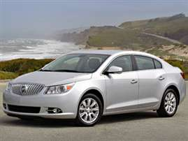 2013 Buick LaCrosse Leather Group 4dr Front-wheel Drive Sedan