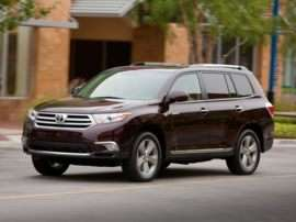 2013 Toyota Highlander Exterior Paint Colors And Interior Trim Colors