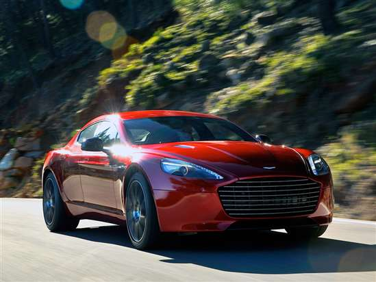 2014 Aston Martin Rapide S Test Drive & 4-Door Sports Car Video Review
