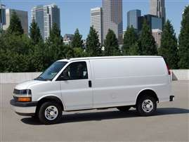 2014 Chevrolet Express 2500 Work Van Rear-wheel Drive Cargo Van