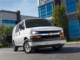 2014 Chevrolet Express 3500 Work Van Rear-wheel Drive Cargo Van
