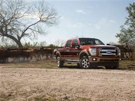 2014 Ford F-250 XL 4x2 SD Regular Cab 8 ft. box 137 in. WB SRW